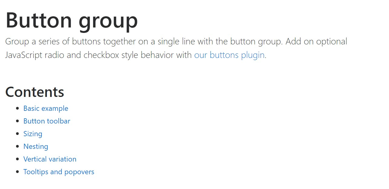 Bootstrap button group  approved  information