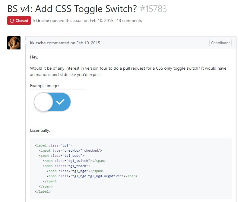 Exactly how to  provide CSS toggle switch?