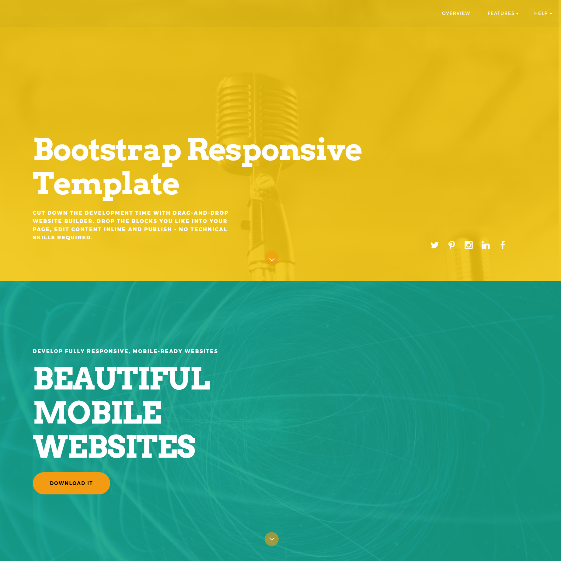 Free Download Bootstrap Responsive Templates