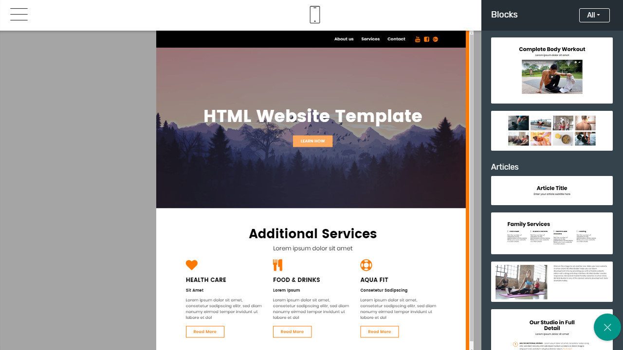 First Class Bootstrap Website Design Overview