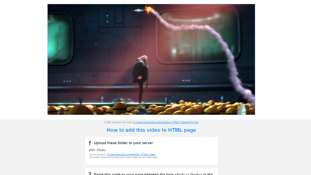 html video fullscreen