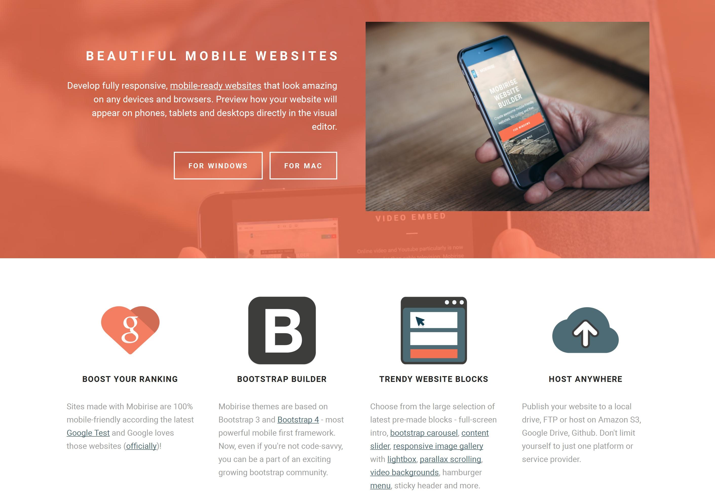 Mobile Website Maker Software