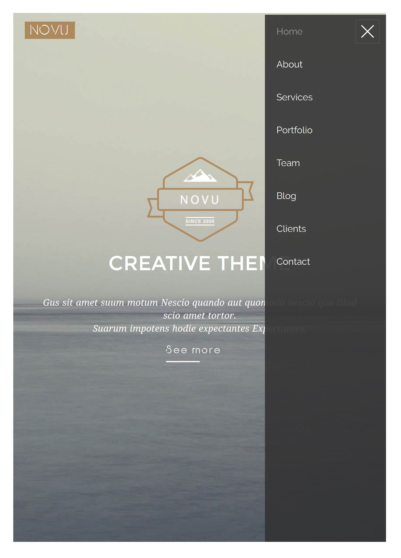 Bootstrap Travel Template