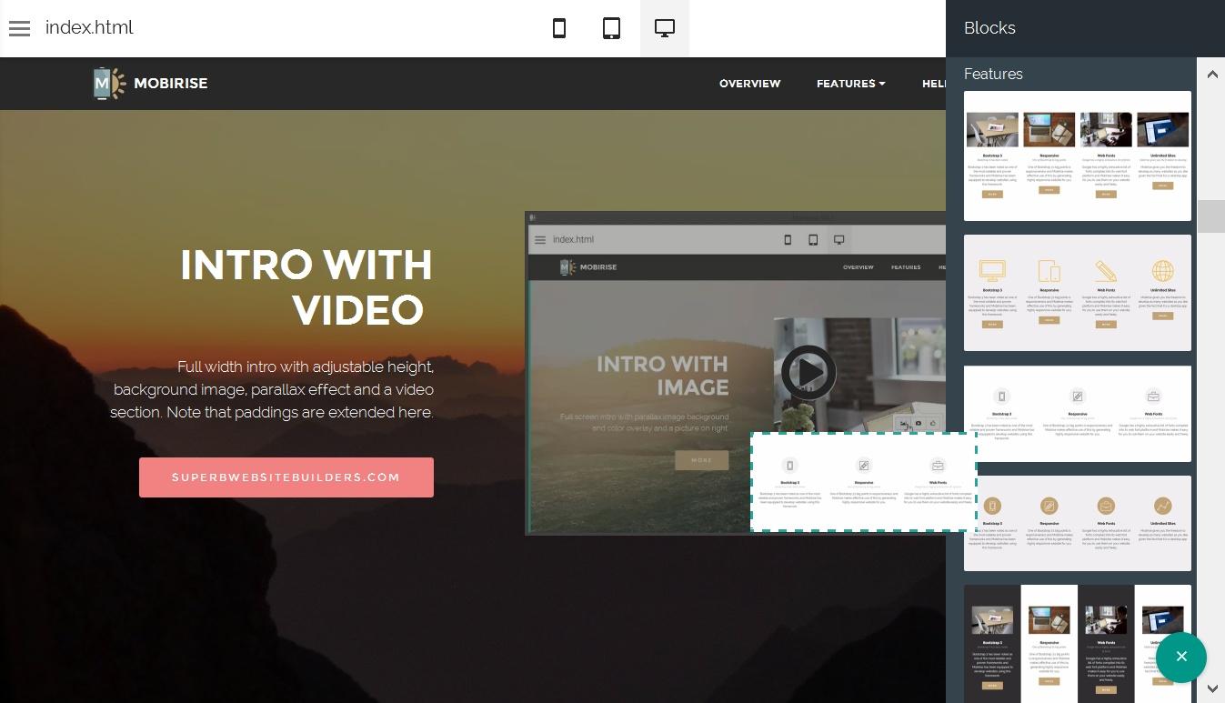 Bootstrap Website Generator