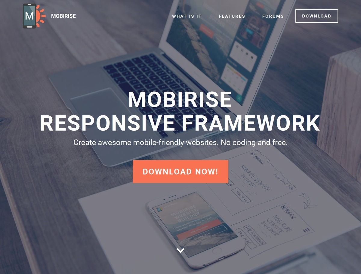 HTML Responsive Website Template
